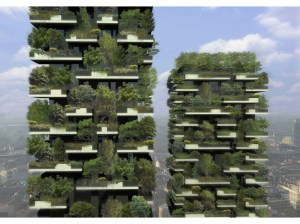 Architect's rendering of Bosco Verticale (which translates to Vertical Forest). Photo credit: http://www.stefanoboeriarchitetti.net/